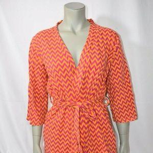 Vera Bradley ZIGGY ZAGS Knit Robe NWT Small/Medium